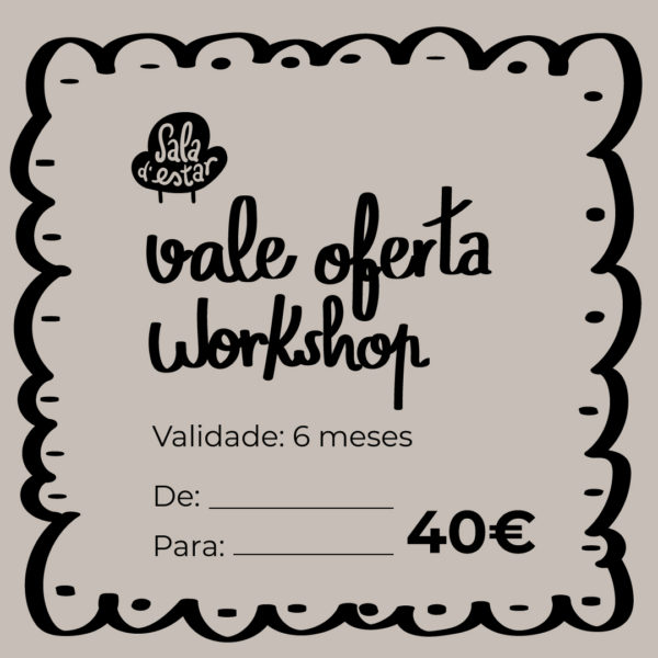 vale oferta workshop sala de estar